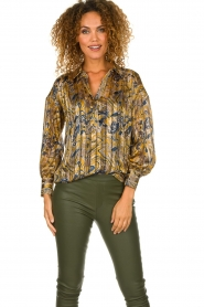 Dante 6 | Blouse with print Collyn | multi  | Picture 2