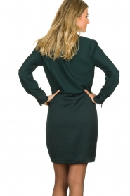 Dante 6 | Wrap dress Marigold | green  | Picture 5