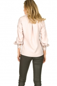 Dante 6 | Blouse with folded collar Toni | natural  | Picture 5