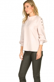 Dante 6 | Blouse with folded collar Toni | natural  | Picture 4