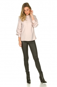 Dante 6 | Blouse with folded collar Toni | natural  | Picture 3