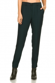 Dante 6 |  Folded trousers Sigourney | green  | Picture 2