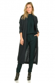 Dante 6 |  Folded trousers Sigourney | green  | Picture 3