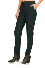 Dante 6 |  Folded trousers Sigourney | green  | Picture 4