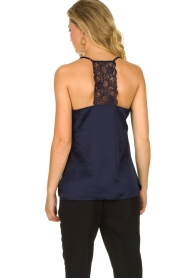 Dante 6 | Top with lace Moanna | blue  | Picture 4