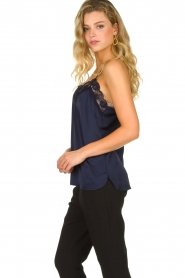 Dante 6 | Top with lace Moanna | blue  | Picture 3