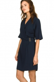 Dante 6 |  Dress with belt detail Pixie | navy  | Picture 5