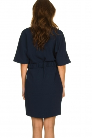Dante 6 |  Dress with belt detail Pixie | navy  | Picture 6