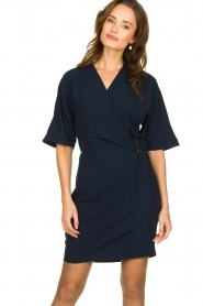 Dante 6 |  Dress with belt detail Pixie | navy  | Picture 2