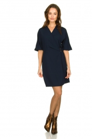 Dante 6 |  Dress with belt detail Pixie | navy  | Picture 3