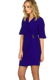 Dante 6 |  Dress with belt detail Pixie | indigo  | Picture 4