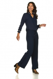 Dante 6 |  Trousers with drawstring Noraly | blue  | Picture 3