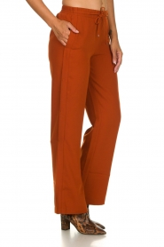 Dante 6 |  Trousers with drawstring Noraly | orange  | Picture 4