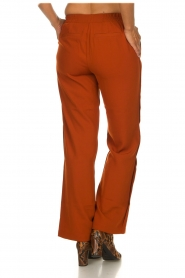 Dante 6 |  Trousers with drawstring Noraly | orange  | Picture 5