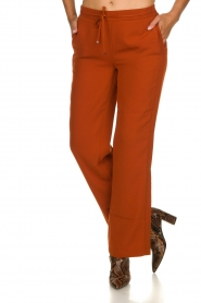 Dante 6 |  Trousers with drawstring Noraly | orange  | Picture 2