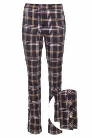 Checkered trousers Vato | blue
