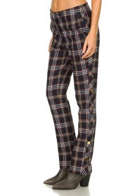 Dante 6 |  Checkered trousers Vato | blue  | Picture 4