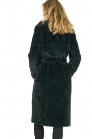 Dante 6 |  Faux fur coat Iboh | green  | Picture 6