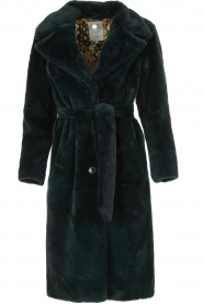 Dante 6 |  Faux fur coat Iboh | green  | Picture 1