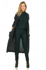 Dante 6 | Woolen cardigan Olsen | green  | Picture 3