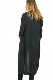 Dante 6 | Woolen cardigan Olsen | green  | Picture 5