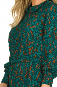 Dante 6 |  Printed dress Dolly | green  | Picture 7
