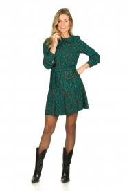 Dante 6 |  Printed dress Dolly | green  | Picture 3