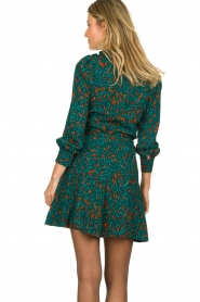 Dante 6 |  Printed dress Dolly | green  | Picture 6
