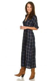 Dante 6 |  Checkered dress Yucki | navy  | Picture 3