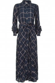 Dante 6 |  Checkered dress Yucki | navy  | Picture 1