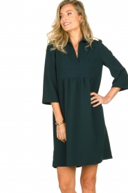 Les Favorites | Dress Nadia | green  | Picture 2