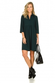 Les Favorites | Dress Nadia | green  | Picture 3
