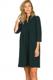 Les Favorites | Dress Nadia | green  | Picture 4