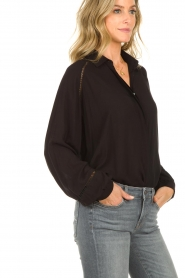 JC Sophie |  Blouse with cut-outs Bess | black  | Picture 7