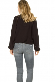 JC Sophie |  Blouse with cut-outs Bess | black  | Picture 6
