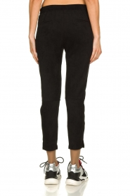 JC Sophie |  Suede look pants Bunny | black  | Picture 5