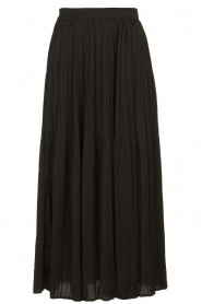 JC Sophie |  Folded maxi skirt Becky | zwart  | Picture 1