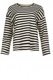 JC Sophie |  Striped sweater Blossem | blue  | Picture 1