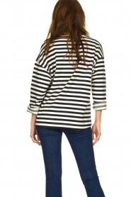 JC Sophie |  Striped sweater Blossem | blue  | Picture 4