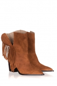 Toral | Suede boots Basket | camel  | Picture 3