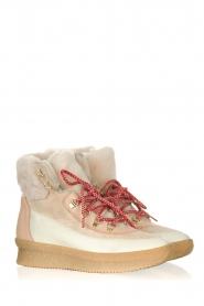 Toral |  Leather sneakers Doma | beige   | Picture 4