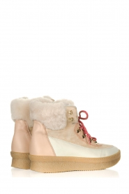 Toral |  Leather sneakers Doma | beige   | Picture 5