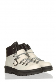 Toral |  Leather hiking boots Florentic | white  | Picture 4