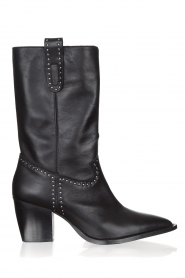 Toral   Leather boots Eleseo   black    Picture 1