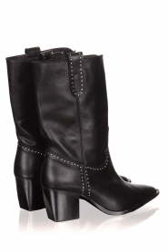 Toral   Leather boots Eleseo   black    Picture 4