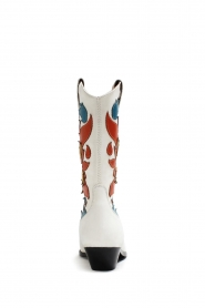 Catarina Martins |  Leather western boots Abba | white  | Picture 5