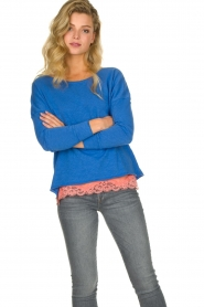 American Vintage |  Basic top Sonoma | blue  | Picture 2