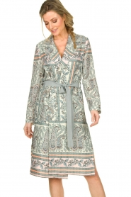 Kocca | Wrapped dress Riley | multi  | Picture 2