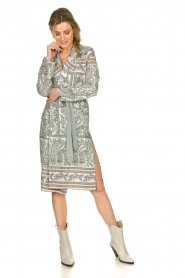 Kocca | Wrapped dress Riley | multi  | Picture 3