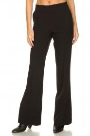Kocca |  Flared pantalon Yoghi | black  | Picture 2